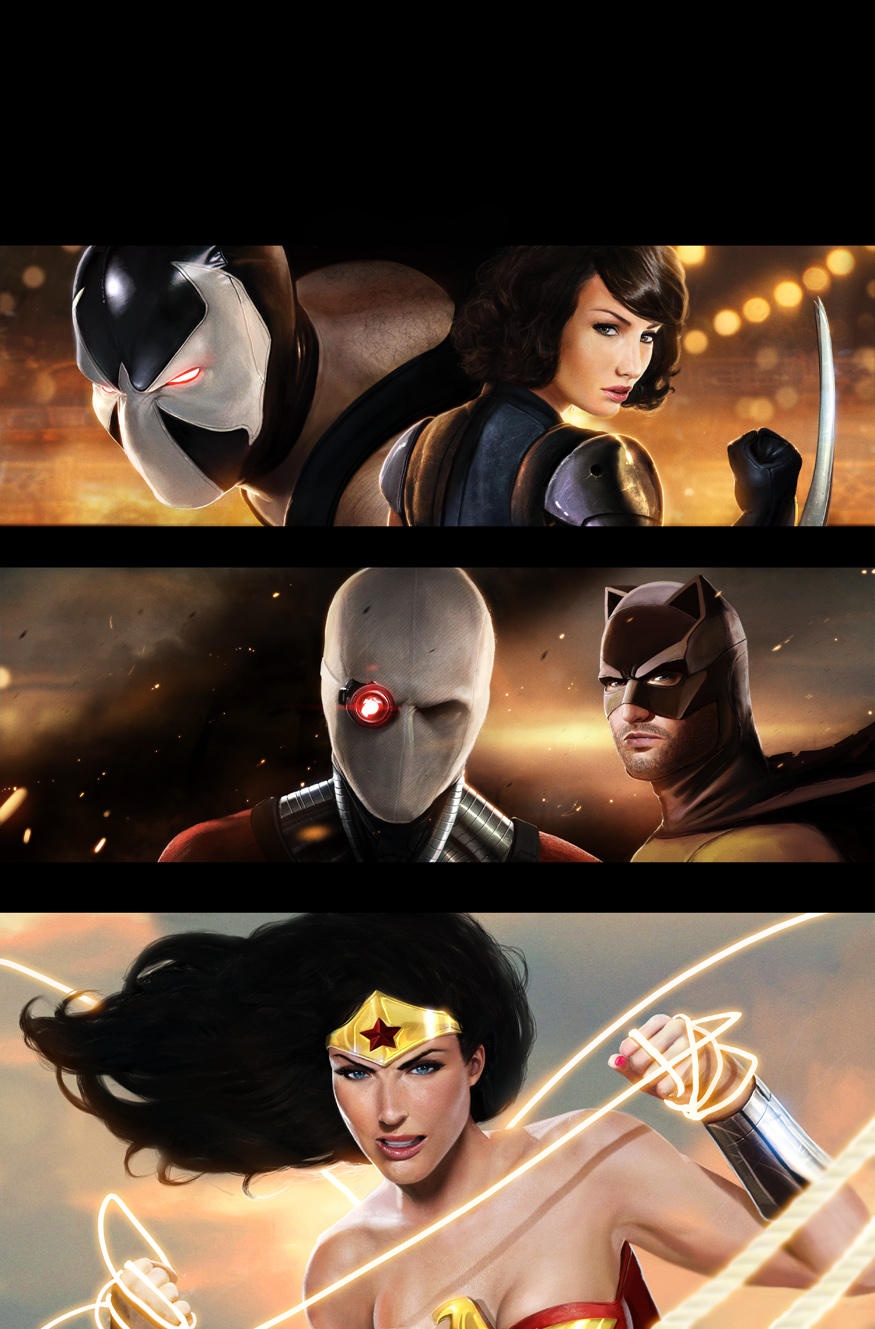 Secret Six Cover 13 by DanLuVisiArt