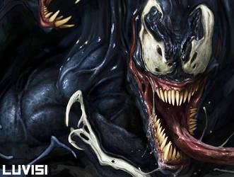 Venom WIP by DanLuVisiArt