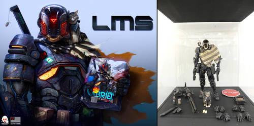 LMS - THREEZERO BOX FIGURE by DanLuVisiArt