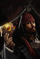 Capt Jack - by DanLuVisiArt