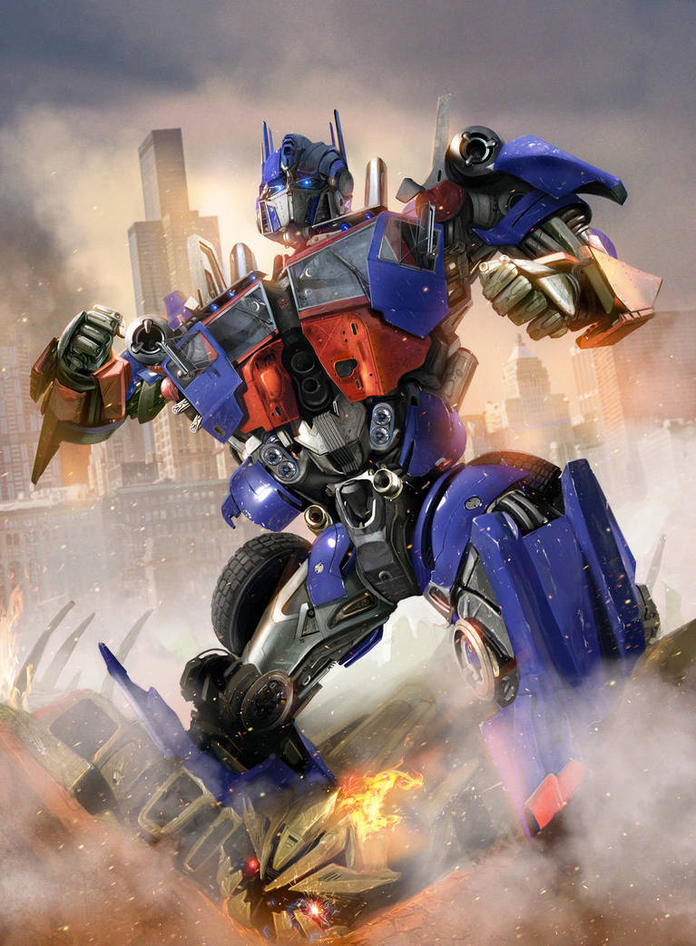 Optimus Prime - by DanLuVisiArt
