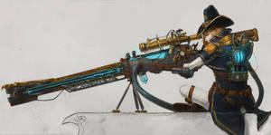 The Order 1886 contest entry: Rail gun by DeVmarine