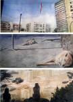 A Day in Santiago (watercolor) by Vidk000