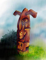 Totem - 2007 Game Concept Art by merbel