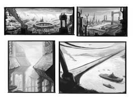 Sketches - 2010 by merbel