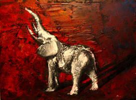 White Elephant -2004 by merbel