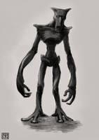 Creature Concept - 2010 by merbel
