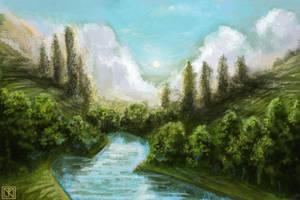 Landscape Study - 2010 by merbel