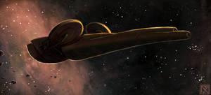 Starship Concept I by merbel