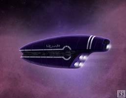 Starship Concept IV by merbel