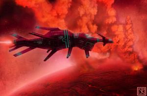 Starship Concept V by merbel