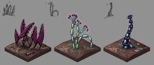 Alien Plant Concepts by merbel