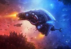 Starship VI revisited by merbel