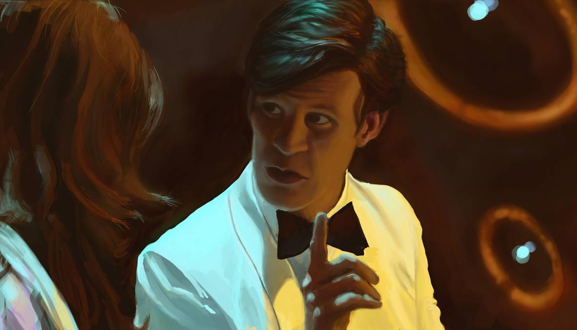 Doctor Who Screenshot Study by merbel
