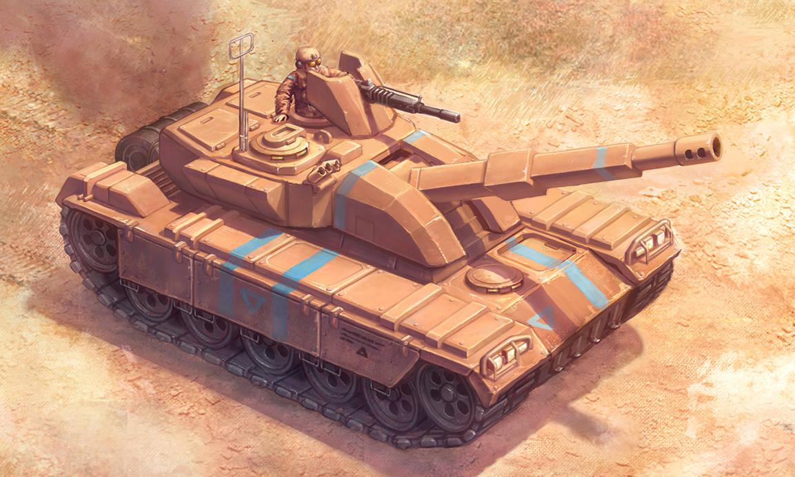 Tank Concept I by merbel