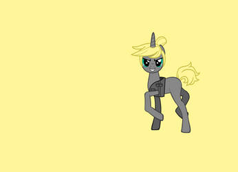 Calhoun ponified by MonstrousPegasister