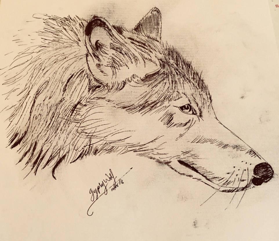 Inktober  by thefuryanwolf