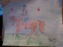 CCF's Bloodrose- First Ride by CalliesKennel