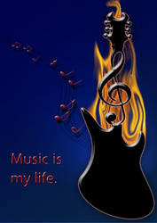 Music is my life by Szonna