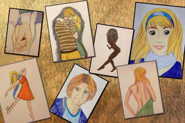 Doodle collage by bonusparts