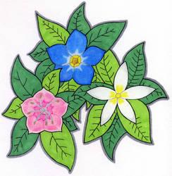 Flowering Triad by RudiciusCaesar