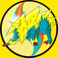 Manectric by BLACK4324