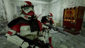Imperial Shock Trooper by CptRex