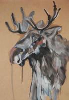 The Moose by DaffodilLament