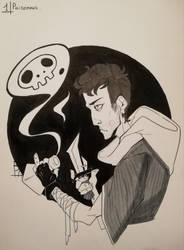 Inktober - Day#1 poisonous by Brouga835Kagoja
