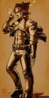 Wolverine by Larbesta