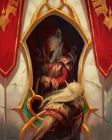 Comission: Blood Elves by Larbesta