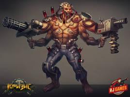 Super Mutant by Larbesta