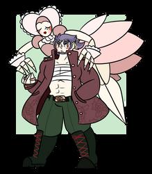Byakuya And Fur Elise by M-0-THS