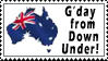 Aussie Stamp by d00mg1rl