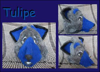 Tulipe - Fursuit Head by Etisan