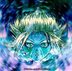 green eyes by Otaku-J
