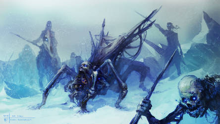 Ice Spider by Thylacinee