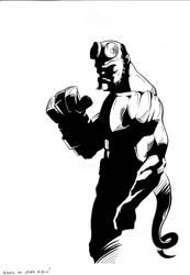 Hellboy by brrkovi
