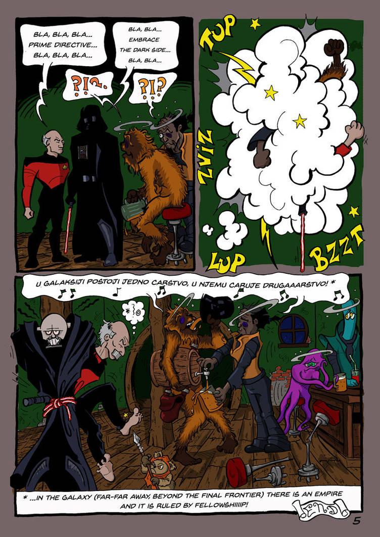 Star Trek vs Wars pg 5 by brrkovi