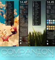 COMPANION for Rainmeter - perview 2 by Dariosuper