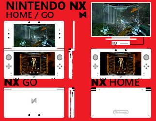 Nintendo NX - Concept by Dariosuper