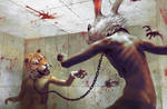 battle by Ryohei-Hase