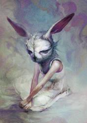 Rabbit by Ryohei-Hase