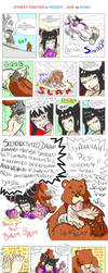 Juri vs Kuma tickle fight ( SF x TK ) by Gladiatore89
