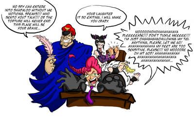 Viper tickle torture by Gladiatore89