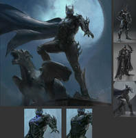 Batman redesign by hdy9108