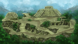 Temple Arena by Ferain
