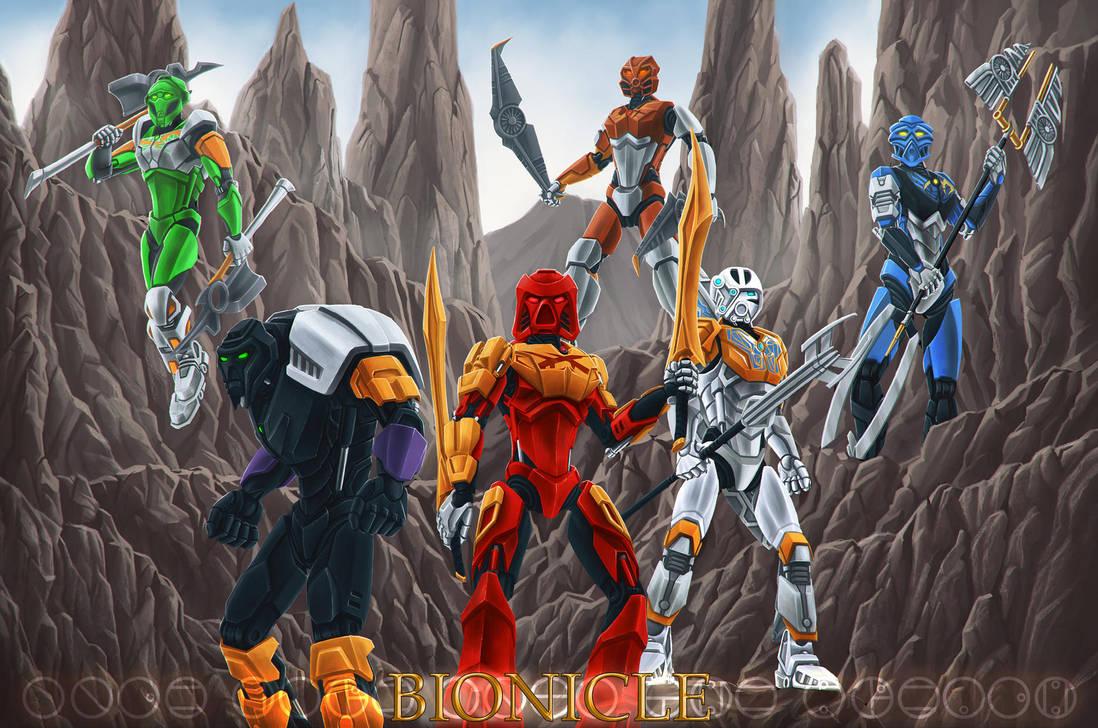 Bionicle 2015 by Ferain