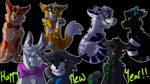 Happy new Yeet by Blue-struped-cat