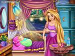 Rapunzel's baby by unicornsmile